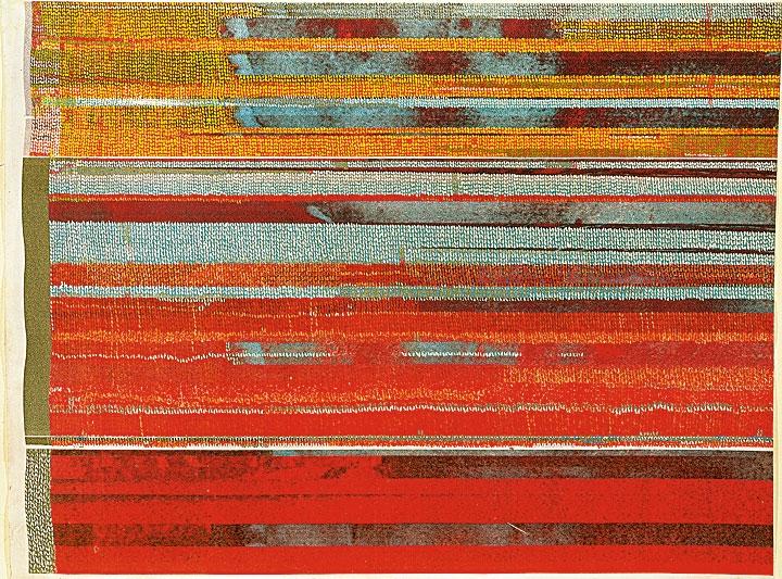 »berliner fenster« acryl/stoff 150cm x 170cm 2010