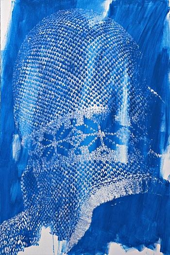 aus der serie »ein jahr verzicht«      öl/leinwand     120cm x 80cm   2007