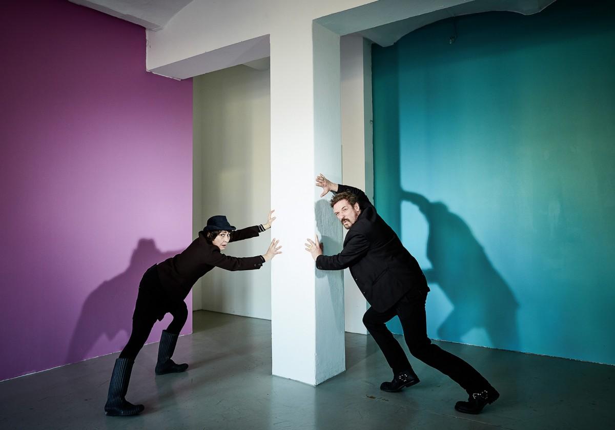 """»Knick Knack«  Austellung mit Manfred Kirschner  im """"Unter Urban"""" foto: Michael Jungblut"""