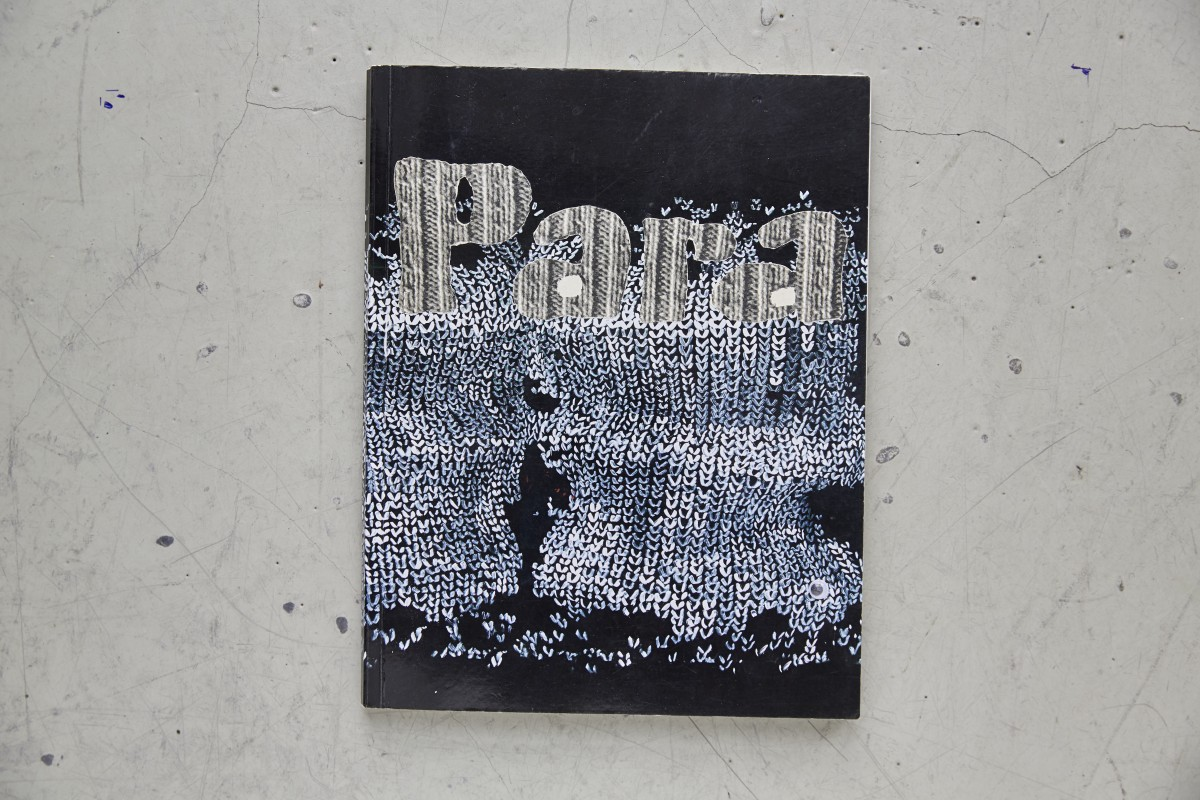 »Monomanisches B 2« oder ein tag ohne wasser und trotzdem geliebt« Collage im eigenen Katalog 26,5 cm x 30,5 cm 2017