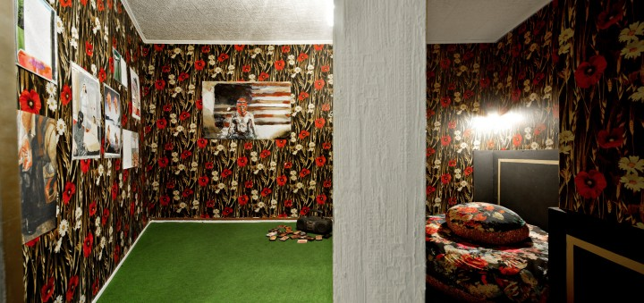 chambre separees Raum rechts von Jonny star