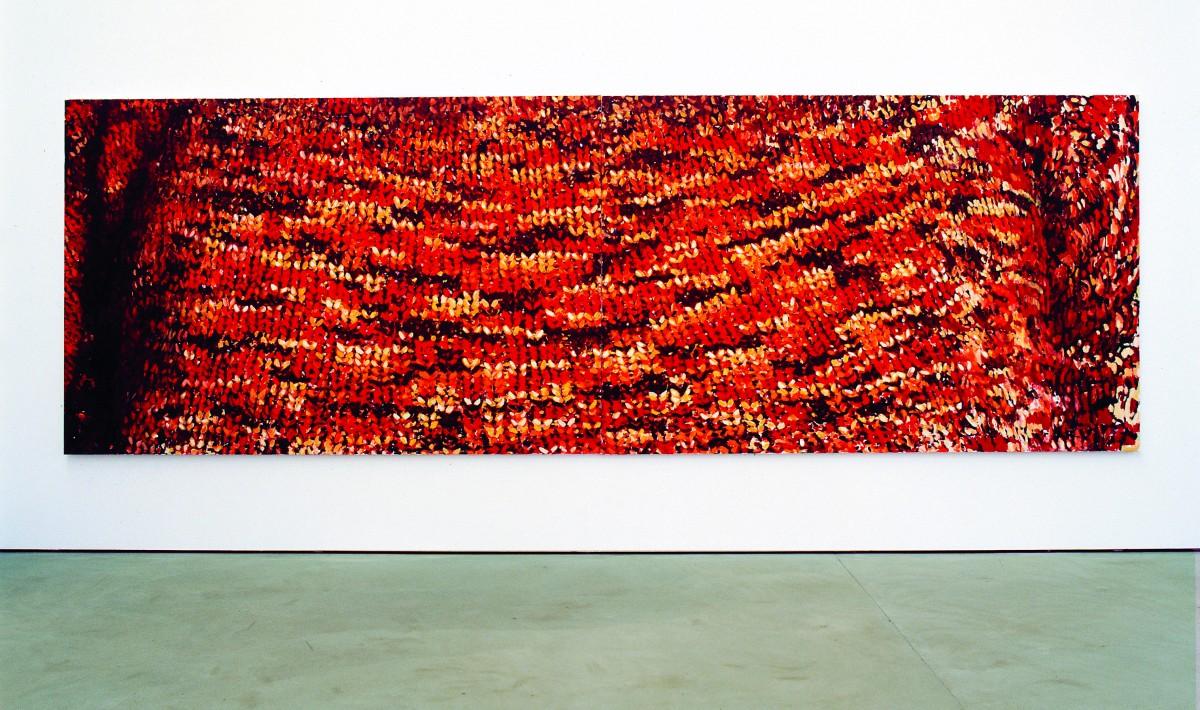 »mutterland«    öl/leinwand    200cm x 600cm    2003